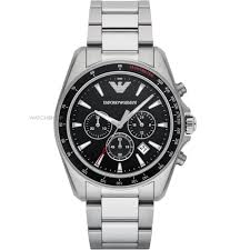 "emporio armani watches men s ladies armani watch shop comâ""¢ mens emporio armani chronograph watch ar6098"