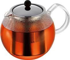 Купить <b>Чайник заварочный с прессом</b> Assam 1.5 л, хром, Bodum в ...