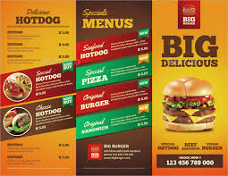 Food Brochure food brochure templates food brochure templates 100 free psd vector ai 1
