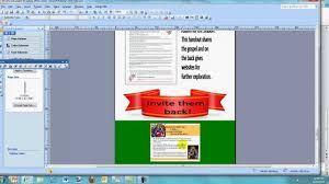 How To Make An Infographic In Word How To Create An Infographic With Ms Publisher Youtube
