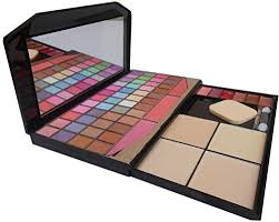 tya laptop fashion makeup kit with 48 colour eye shadow pact and blusher etc