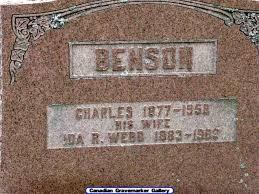 Ida Ruth Benson (Webb) (c.1884 - c.1963) - Genealogy