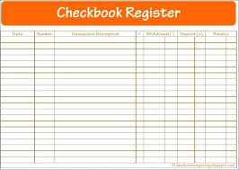 Large Check Register Likeable Free Printable Checkbook Print