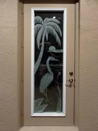 Glass Design Custom Etched Glass Door Inserts Fort Myers Naples