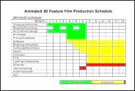 Shooting Schedule Sample Movie Schedule Template Movie Schedule Template Movie