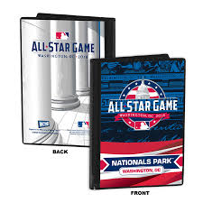 Photo Album Display Stand 100 MLB AllStar Game Home Plate Ticket Display Stand 84