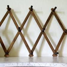 Expandable Wooden Coat Rack Best Vintage Wood Coat Rack Products On Wanelo 5