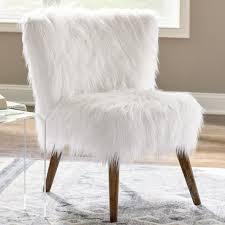 gypsy faux fur chair