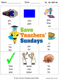 Handwriting worksheet maker make custom handwriting & phonics worksheets type student name, small sentence or paragraph and watch a beautiful dot trace or hollow letter. Ie Oe And Ue Phonics Lesson Plans Worksheets And Other Teaching Resources