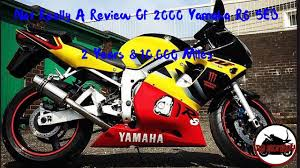 not really a review of 2000 yamaha r6 5eb 2 years 10 000 miles