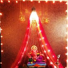 the 25 best ganpati decoration ideas ideas