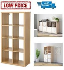 office shelving unit. Image Is Loading IKEA-Kallax-Shelving-Unit-77x147cm-Oak-Effect-Home- Office Shelving Unit U