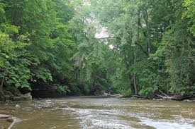 Chagrin River Steelhead Fishing Map And Guide