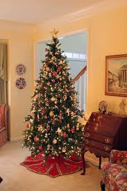 Decorating Home Paint Schemes Interior White Christmas Tree With Red  Decorations Why Do We Decorate Christmas Trees Small Living Spaces Ideas  Traditional ...