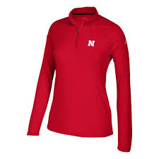 adidas quarter zip. women\u0027s adidas scarlet nebraska cornhuskers ultimate performance quarter-zip pullover jacket quarter zip