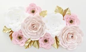 surprising design wall flower decor interior designing home ideas giant paper set in blush caden lane decoration images diy lotus porcelain