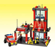 online buy whole set building companies from set joy mags kazi 8052 toy building blocks minifigures gift for kids fire company fire center building
