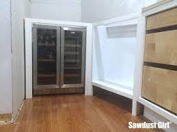 built in beverage refrigerator. Built-in Beverage And Wine Refrigerator In Pantry Built
