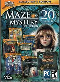Then log in to see your favourited games here! Mystery Masters Maze Of Mystery Collection 20 Hidden Object Games Amazon Co Uk Pc Video Games