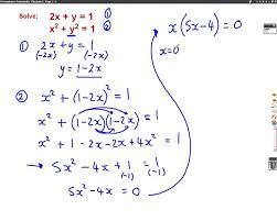 simultaneous equations gcse higher exam questions tessshlo
