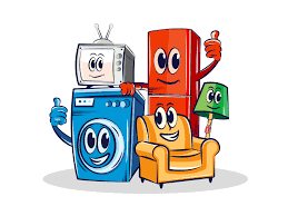 Funny furniture Design Funny Furniture mascot Illustaion Sofa Refrigerator Tv Washing Machine Fun Funny Character Mascot Cartoon Dribbble Funny Furniture mascot By Milon Ahmed Dribbble Dribbble
