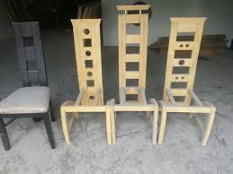 sillas modernas + comedor + tapizadas + madera. Cargando zoom.