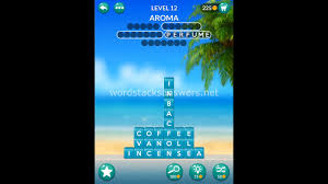 Word Stacks Level 12 Answers
