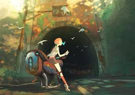 Tunnel by Yifei Wang : ImaginarySliceOfLife