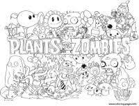 Disegni Da Colorare Plants Vs Zombies Plants Vs Zombies