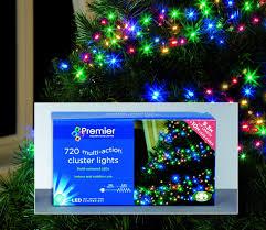 Outdoor Cluster Christmas Lights Premier Multiaction 720 Led Cluster Lights Cluster Lights