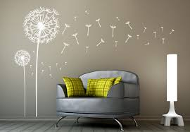 Small Picture Dandelions Set of 2 Wall Decal Dandelion Vinyl Art