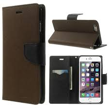 apple iphone 6 plus brown fancy wallet case jpg