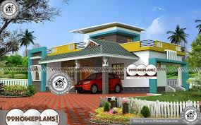 2 bedroom house plans 3d view 70