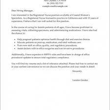 Resume Cover Letter For Nursing Resume Templates Design Cover