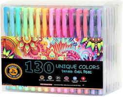 Siimply print the state coloring page that you want to work on in black and white. Amazon Com Officethink 130 Unique Gel Pens Set Ergonomic Grips Color Codes And Chart Zero Duplicates 60 More Ink Non Toxic Acid Free Bonus 12 Adult Coloring Pages Sketching Crafts And More Office Products