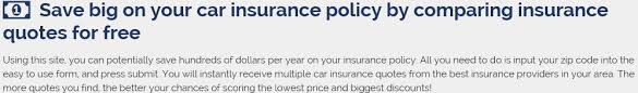 Car Insurance Quotes Las Vegas Awesome Get All The Best Car Insurance Quotes From Top Insurance Companies