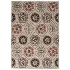 hampton bay outdoor rugs medallion hampton bay azalea outdoor rug