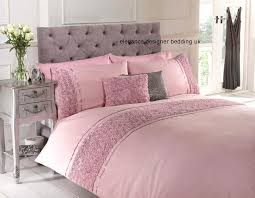 dusky pink raised rose duvet quilt cover bed set bedding 4 sizes or cushion in home furniture diy bedding bed linens sets