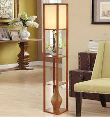 living room floor lighting. Best 8 Floor Lamp With Shelves Living Room Lighting
