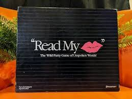 read my lips game mouthing lip reading