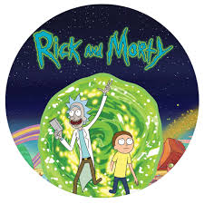 Rick and Morty Pop-Grip: Rick and Morty logo Pop-Grip – Popgrip