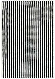 chester eco cotton rug black white hook loom black and white rugs black and white striped