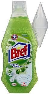 <b>BREF Освежитель</b> для унитаза ЗЕЛЕНОЕ ЯБЛОКО 360 мл