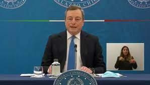 video] Covid-19: la conferenza stampa di Draghi e Speranza. Torna la zona  gialla