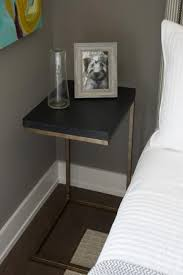 Image of: Small Bedside Table Wall