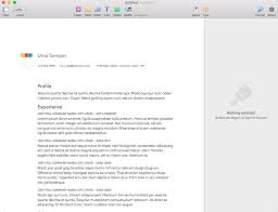 Apple Pages Resume Templates Gorgeous How To Create A Resume In Apple Pages [Mac]