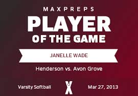Janelle Wade's (West Chester, PA) Awards | MaxPreps