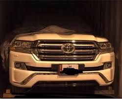 Top-end 2016 #Toyota #Land #Cruiser (VX.S) front-end uncovered ...