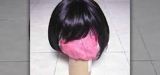 how to make a wig stand for your cosplay wigs props sfx wonderhowto