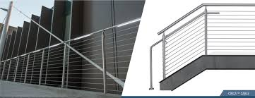 steel cable railing. Steel Cable Railing W